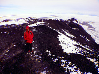 Polynya and Hiking in the Wind