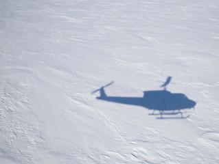 Ice edge flight!