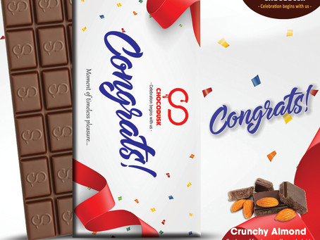 Delicious greeting cards from Chocodusk