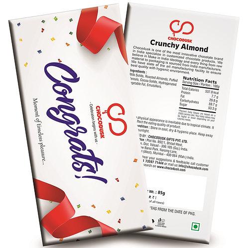 Congrats Chocolate Bar