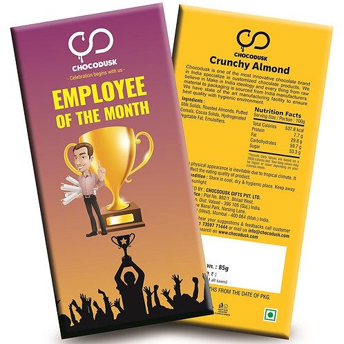 Employee Of The Month (Purple) Chocolate Bar