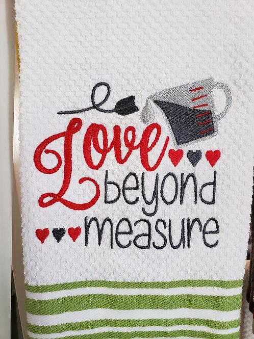 Love Beyond Measure Hand Towel
