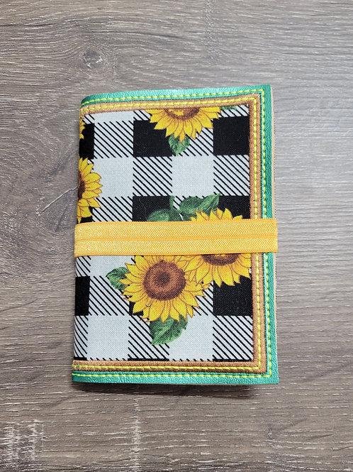 Sunflower Small Travel Notebook