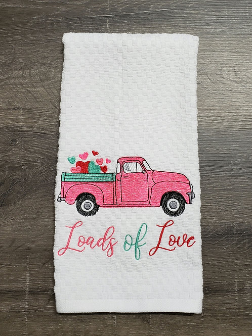 Loads of Love Hand Towel