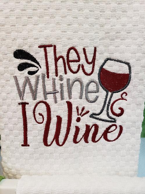 Wine Hand Towel