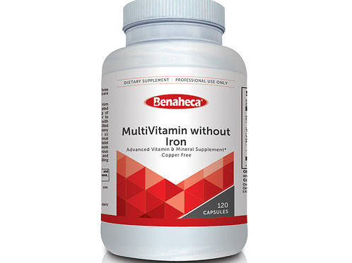 MultiVitamin without Iron 多重维他命(无铁版)