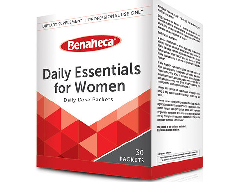 Daily Essentials for Women 女性日常营养片