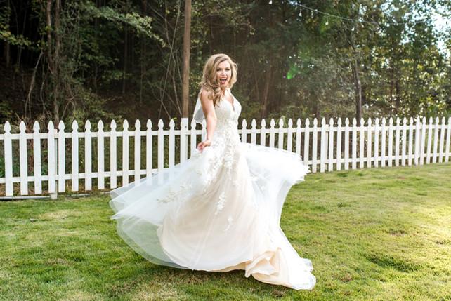 wedding bride photos memphis