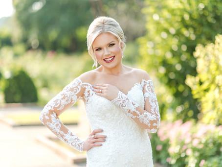 A Botanic Garden Bridal Session