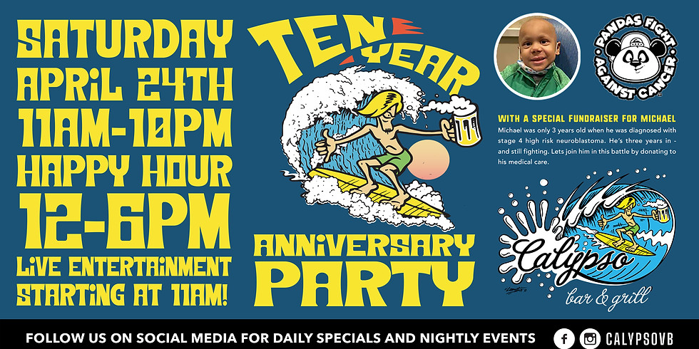 Calypso's 10 Year Anniversary Party