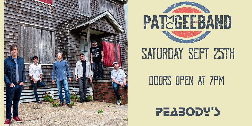 Pat McGee Band LIVE