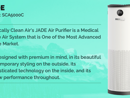 Breathe easy, with our clean air: JADE 5000C Filters