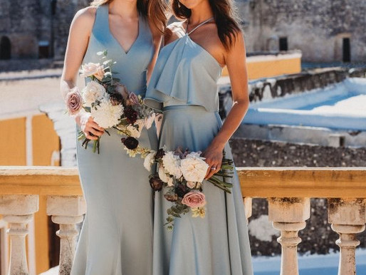 2021 BRIDESMAID TRENDS FEATURING ALLURE