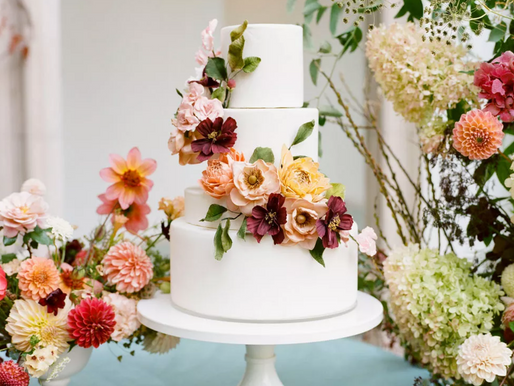 2021 WEDDING CAKE TRENDS