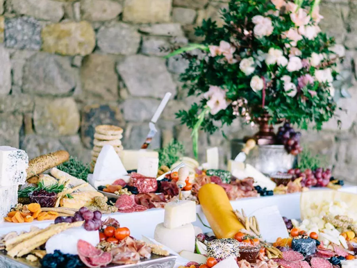 7 food stations you need at your wedding reception
