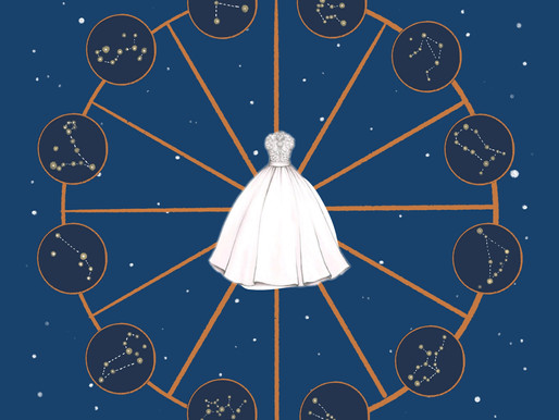 WHAT BRIDAL GOWN MATCHES YOUR ZODIAC SIGN?