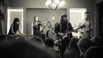 Sofar Vancouver house concert, featuring The Ruffled Feathers.