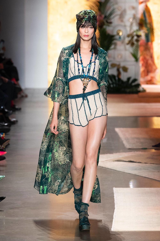 anna sui new york fashion week spring/summer 2019
