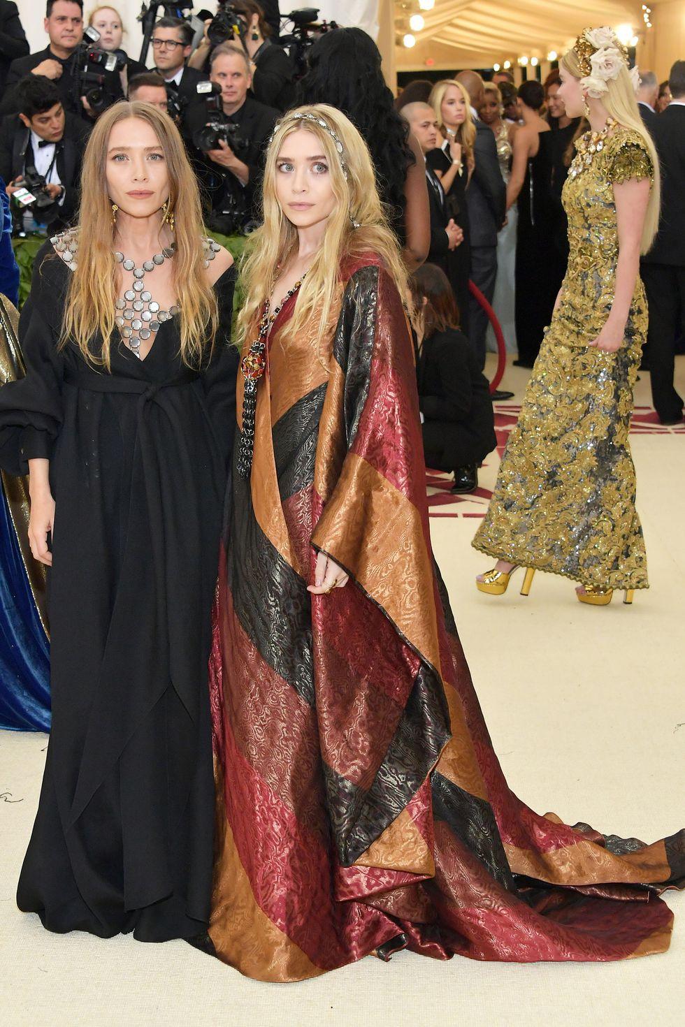 Mary-Kate et Ashley Olsen au Met Gala 2018