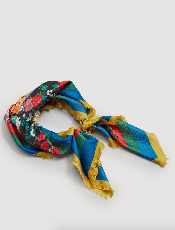 Mango | Foulard imprimé à fleurs