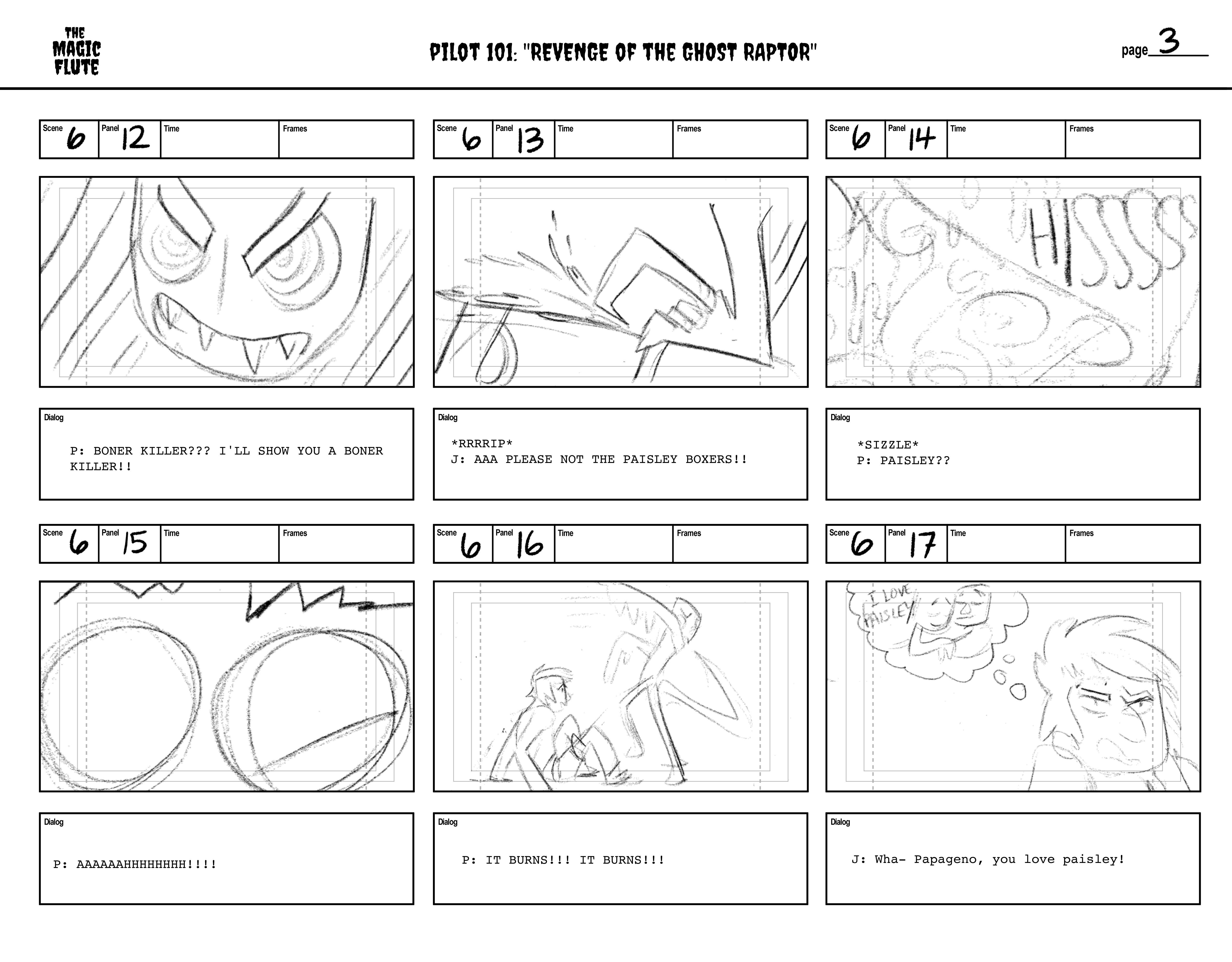 Storyboards 13-18