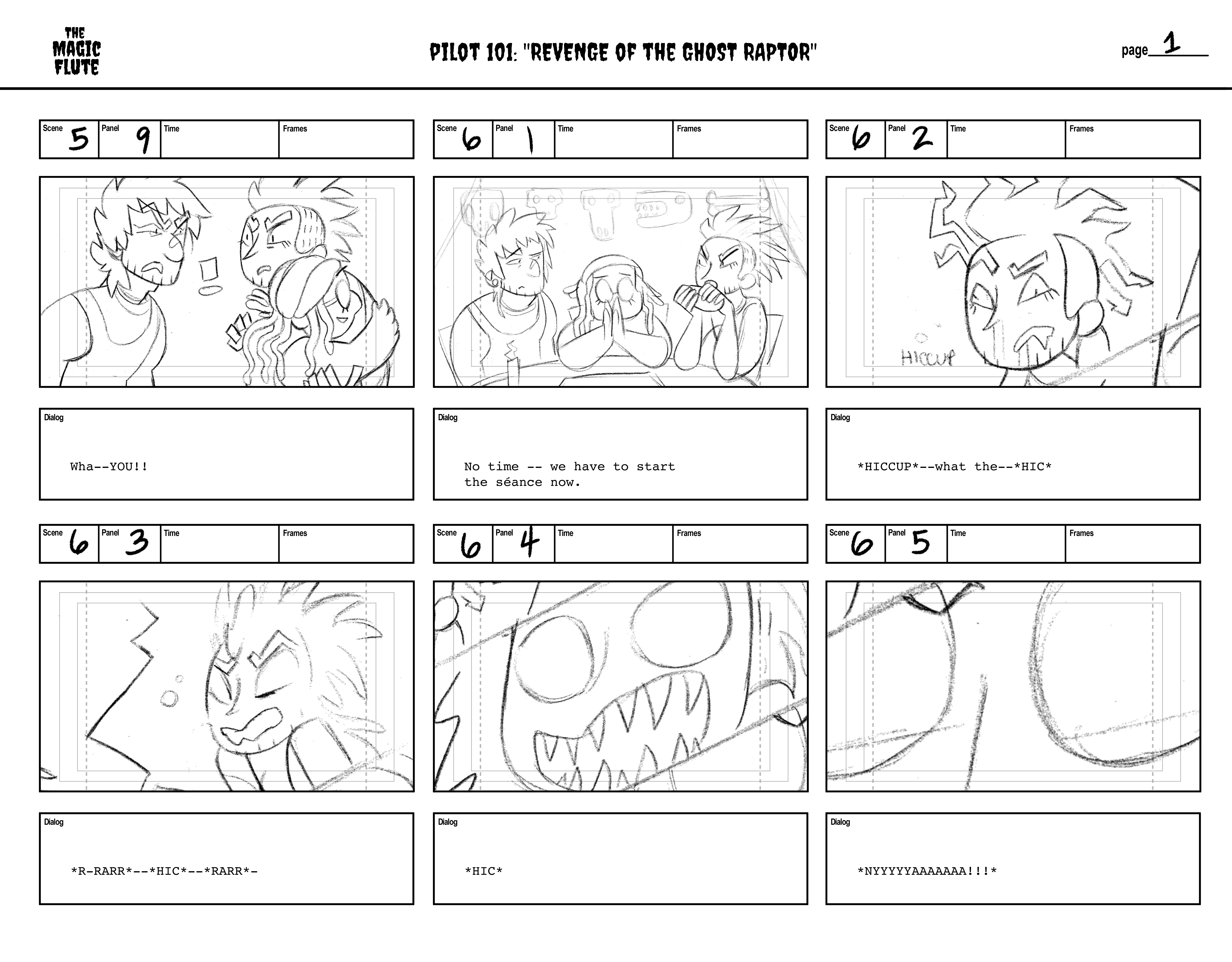Storyboards 1-6