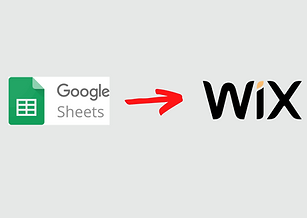 Sync data from Google Sheets to a Wix database