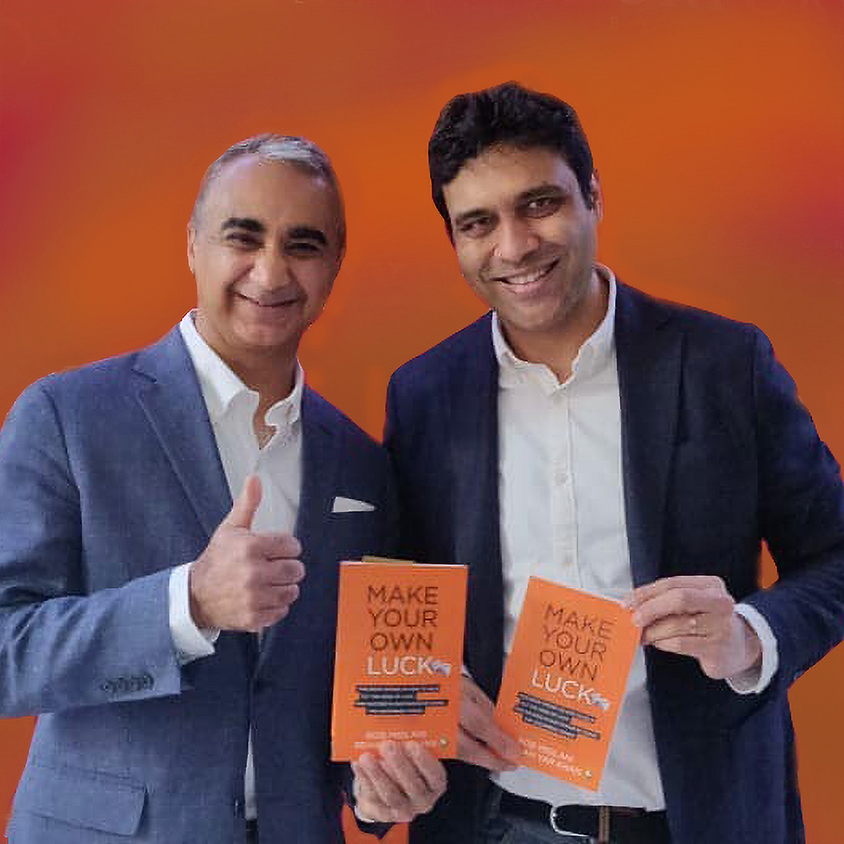 Book launch // Bob Miglani & Rehan Yar Khan in conversation with Anupam Mittal