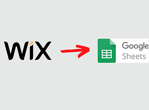 Wix to Google Sheets