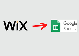 Integrate data from Wix forms to Google Sheets