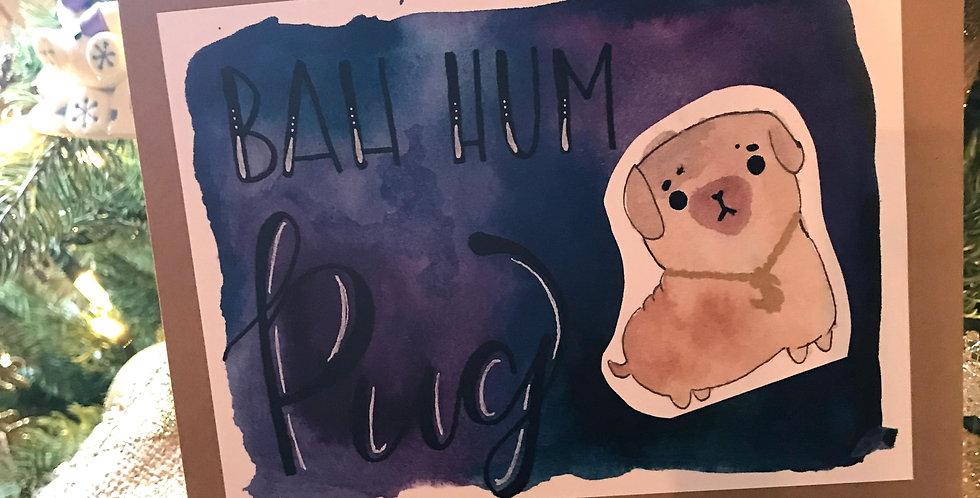 Bah Hum Pug x6
