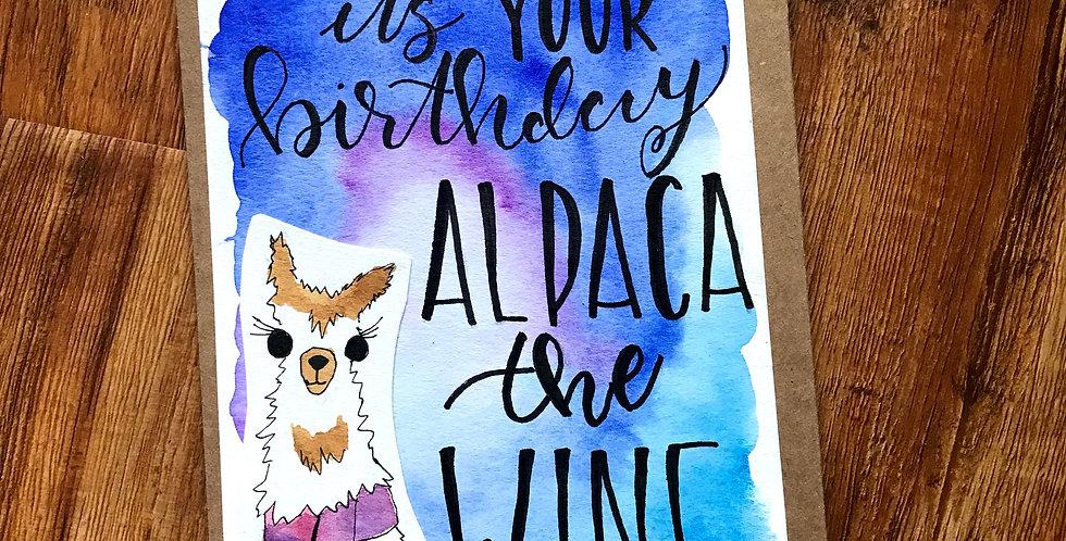 Alpaca the Wine