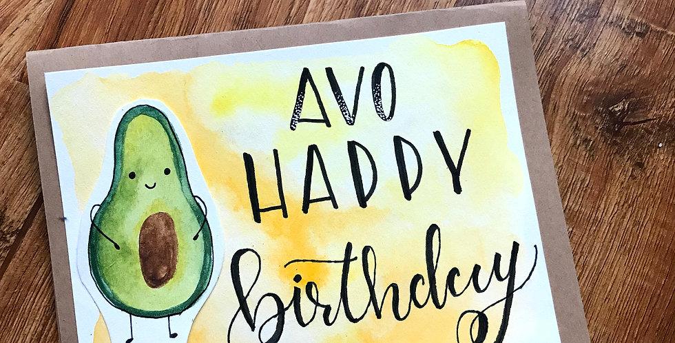 AVO Happy Birthday