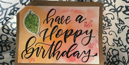 Have a Hoppy Birthday