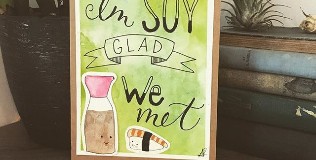 Soy Glad we Met