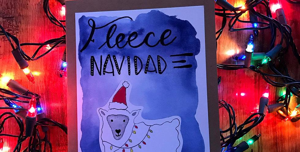 Fleece Navidad x 6