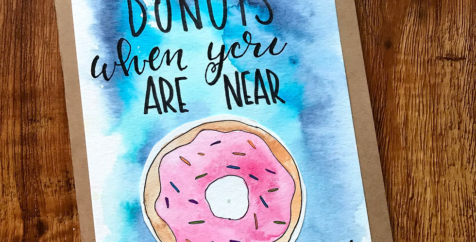 Donuts when you are Near