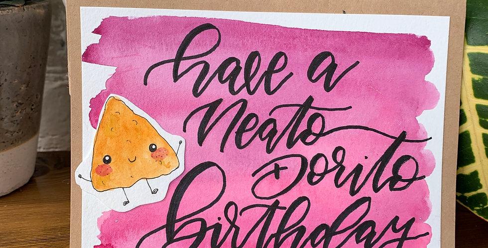 Have a Neato Dorito Birthday