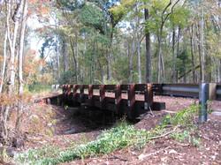 Side View of Trail Bridge