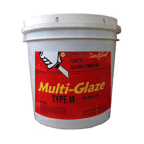 Sarco Multi-Glaze Type M Glazing Compound - 5-gallon