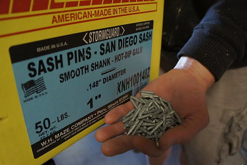 Sash Pins (Priced per Pound)