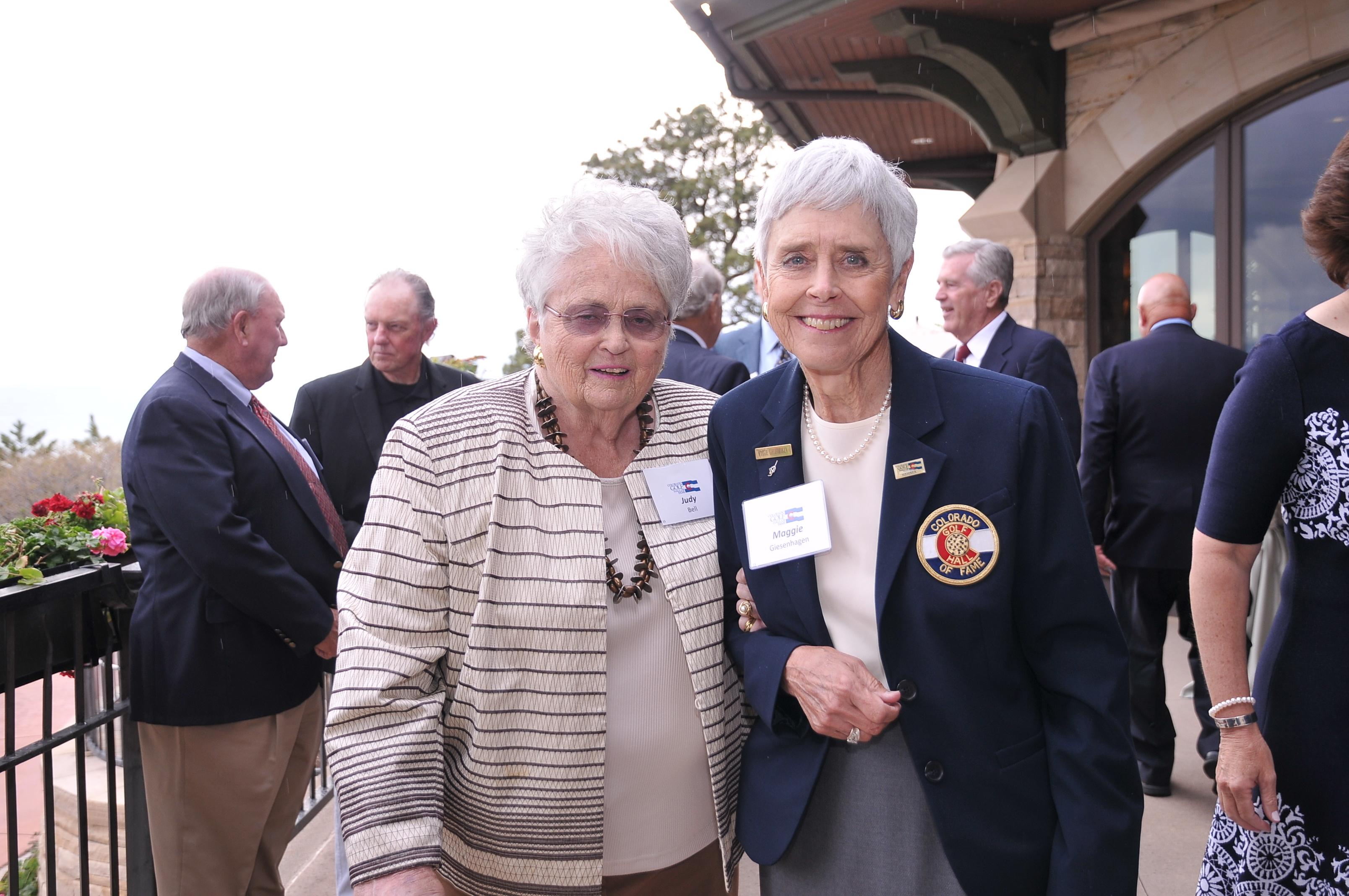 Judy Bell and Maggie Giesenhagen