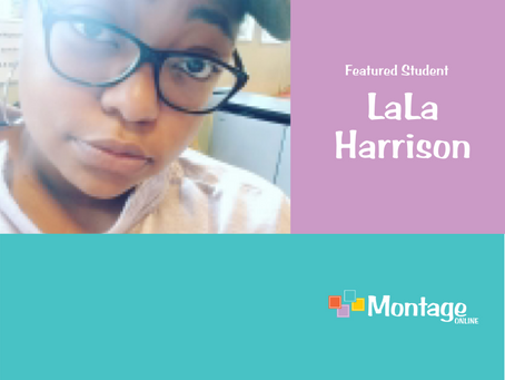 December Featured Student: LaLa Harrison