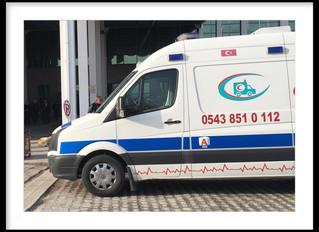 Çorum Ankara Arası Özel Ambulans