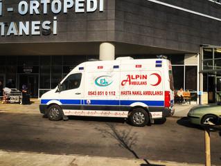 Ankara Şehir Hastanesinden Şehirler Arası Özel Ambulans