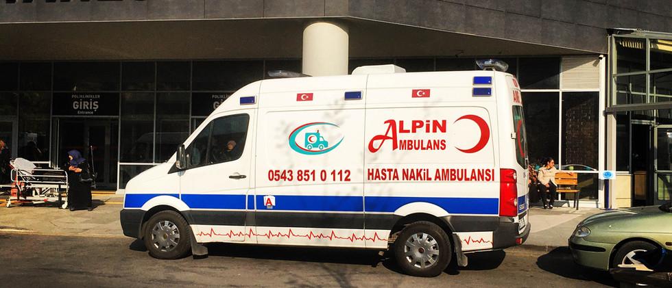 ankara şehir hastanesi ambulansı
