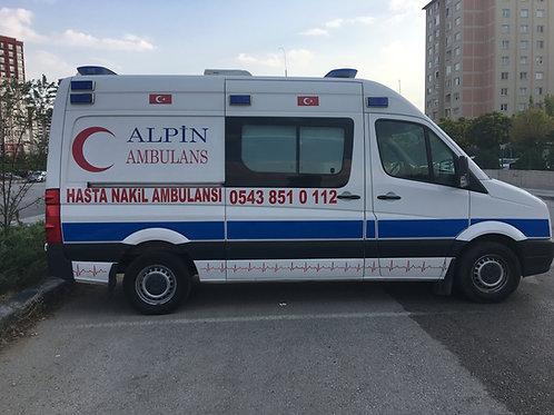 Çankırı Özel Ambulans 0543 851 0 112