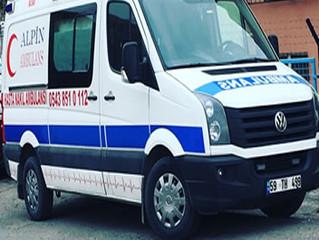 საქართველო თურქეთის პირადი სასწრაფო დახმარების მანქანა
