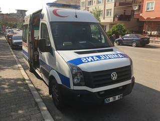 Afyon Ankara Arası Hasta Nakli