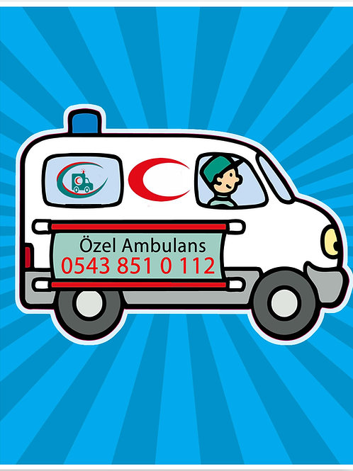 Bağcılar Özel Ambulans telefon numarası